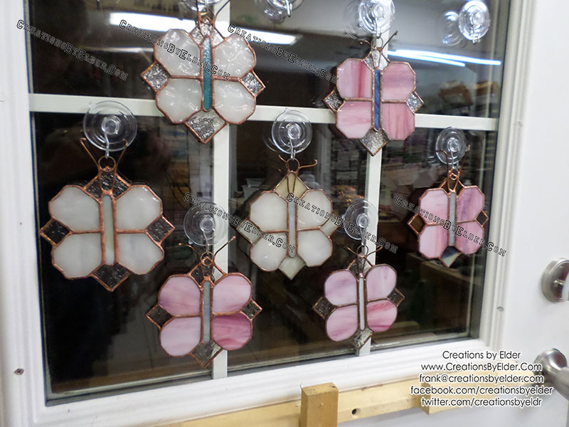 stained glass art butterflies butterfliez suncatcher sun catcher