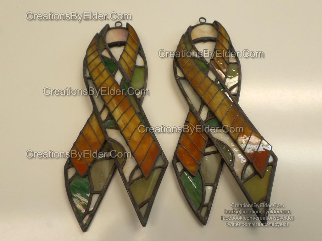 suncatcher copperfoil art stained glass memorial piece