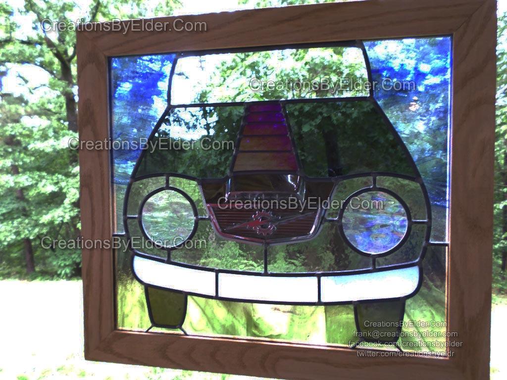 ford emblem panel window
