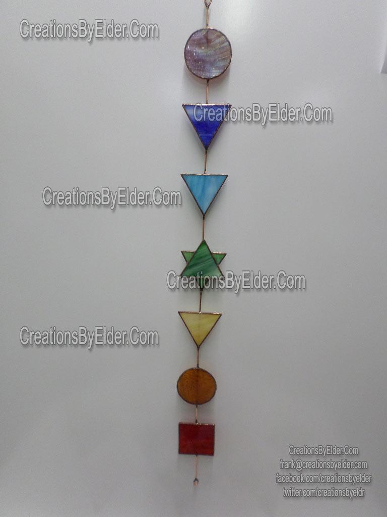 stained glass art chakra sg chakraz suncatcher metaphysical healing power