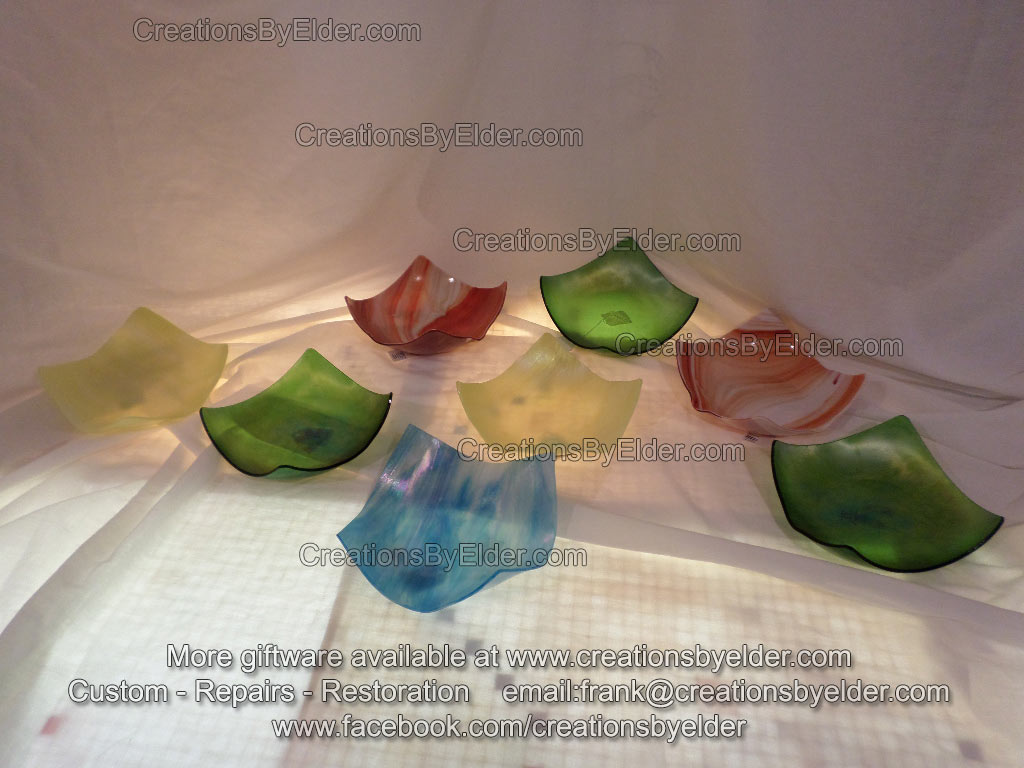 art glass stained kiln formed glass bowl sg bowlz
