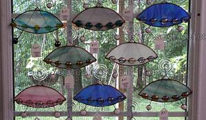 stained glass alien handz sg hands suncatcher sun catcher creations by elder